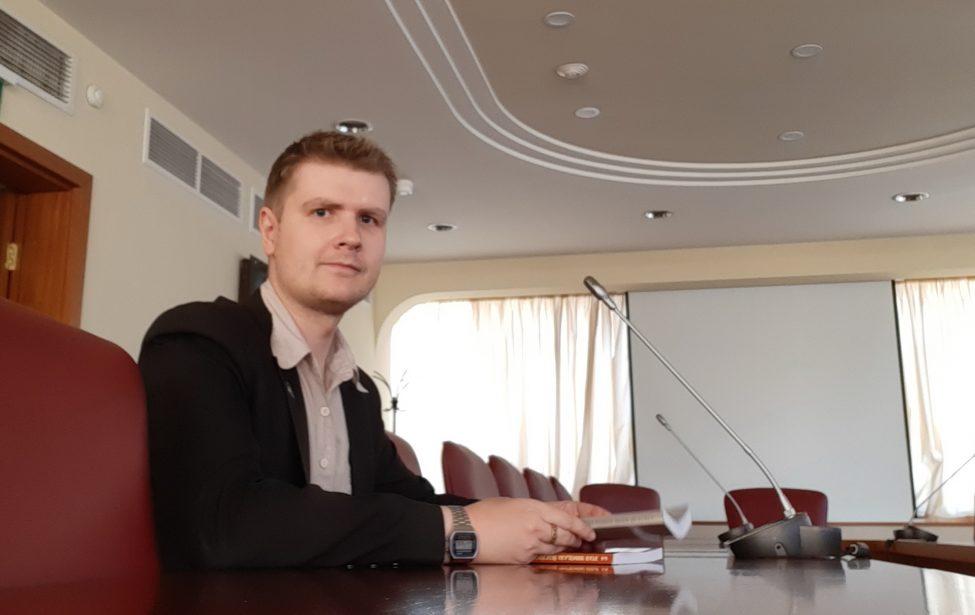 Дмитрий Самусенко на презентации доклада ЮНКТАД