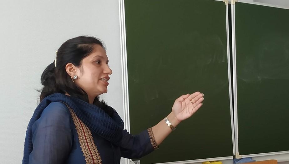 Стажировка для аспирантов Делийского университета