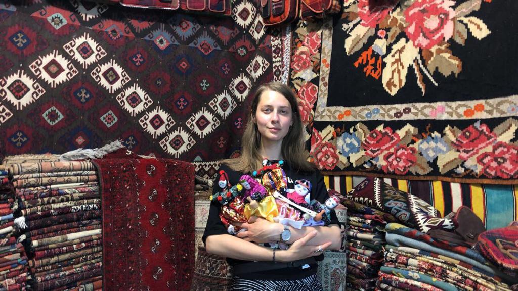 Студентка МГПУ Лиза Овчинникова остажировке вТурции