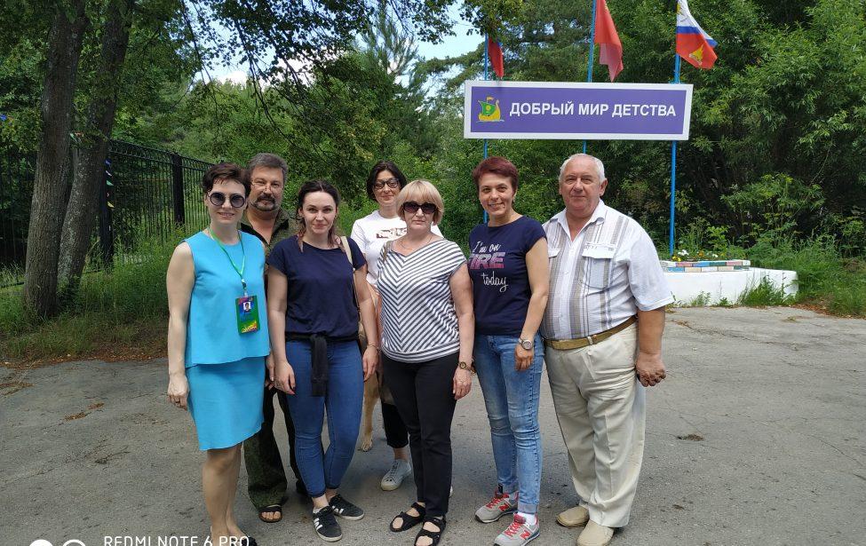 Летняя педагогическая практика в ДОЛ «ОКА»