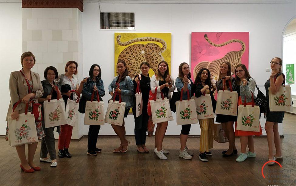 Студенты ИКИ на мастер-классе в Академии художеств
