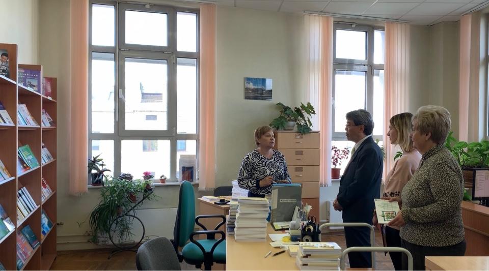 Визит министра Посольства Японии в России Тосио Ямамото