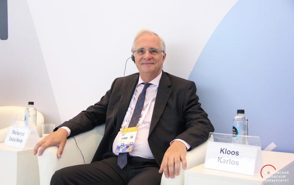 Карлос Дельгадо о конференции «Большие данные в образовании»