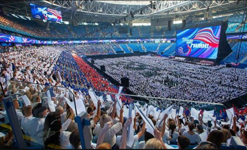 В акции «Вся страна поёт гимн» принял участие хор ИКИ