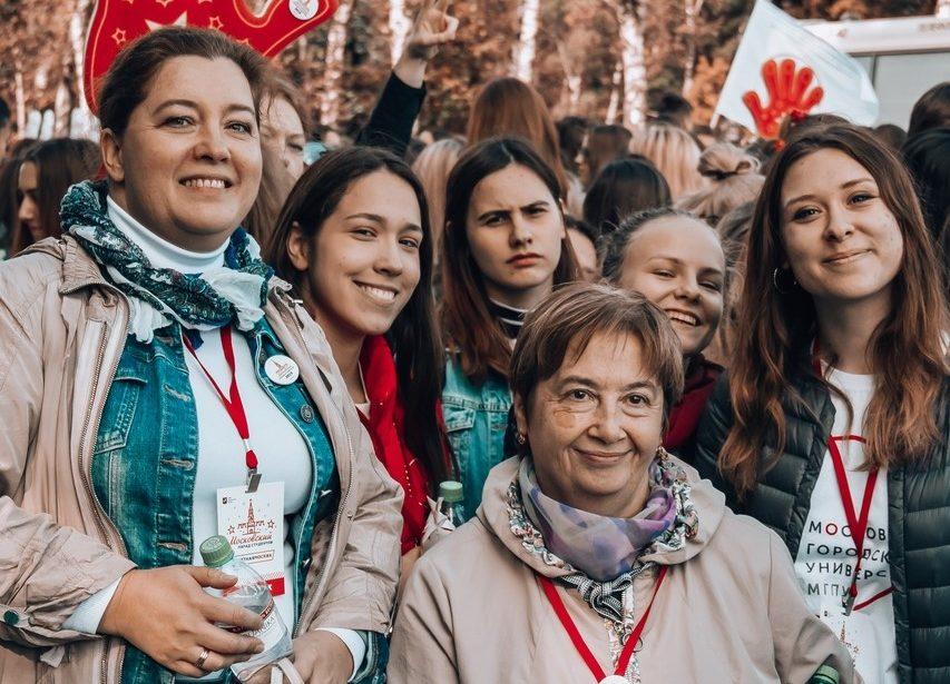 Московский парад студентов