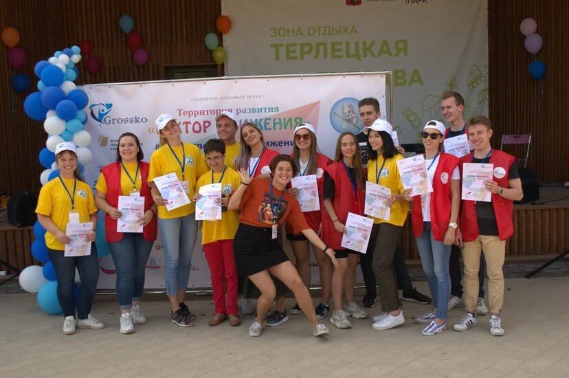 Волонтеры ИЕСТ на инклюзивном веломарафоне