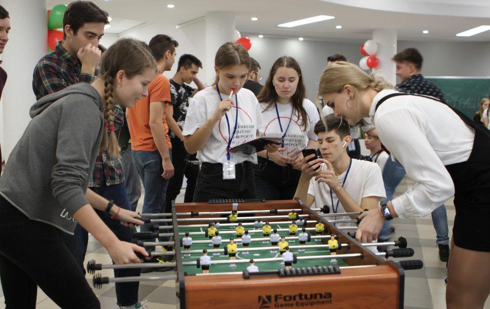 ИИЯ принял второй этап университетского турнира по кикеру