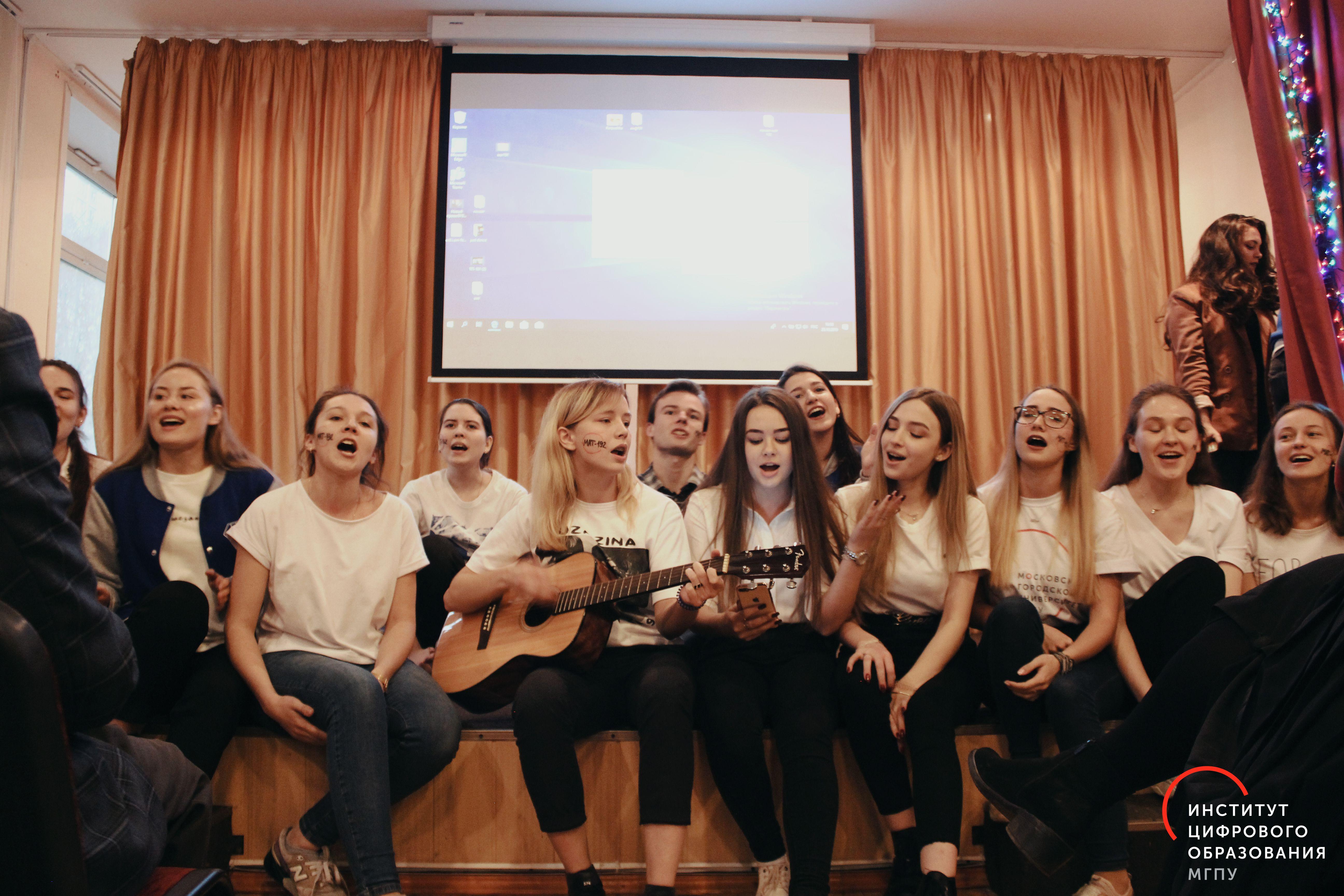 Посвящение в студенты ИЦО