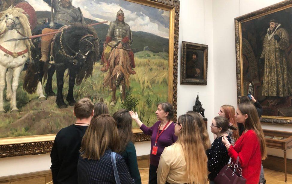 Третьяковская галерея в рамках программы «Занятие в музее»