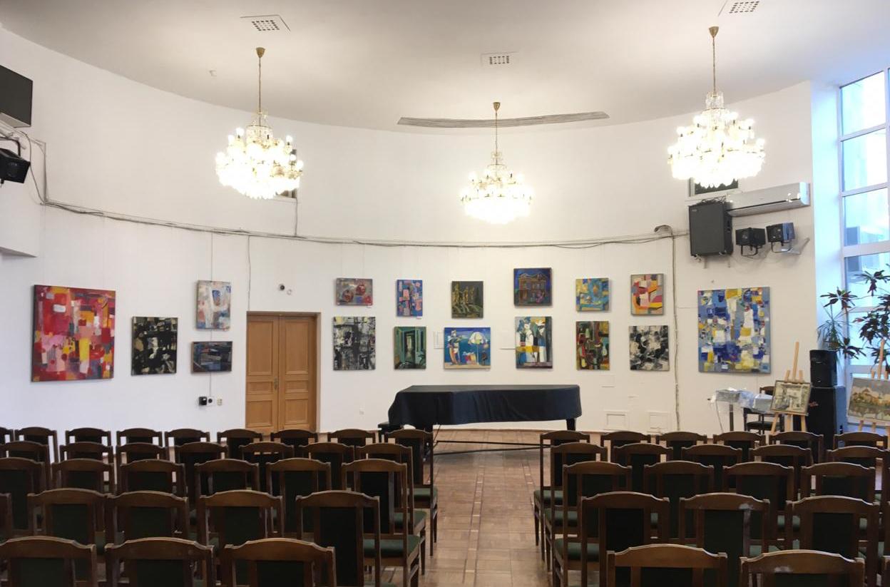 21Открытие выставки Н.Зинченко в ЦДРИ. 01.11.19 ИКИ МГПУ