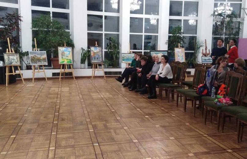 8Открытие выставки Н.Зинченко в ЦДРИ. 01.11.19 ИКИ МГПУ