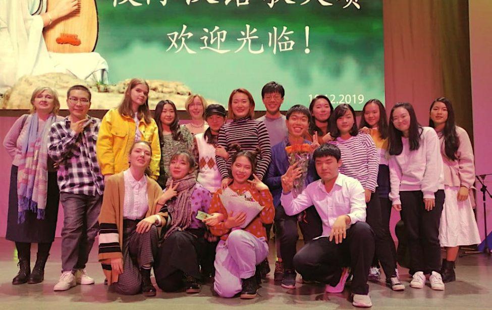Студенты ИИЯ приняли участие в вокальном конкурсе в РУДН