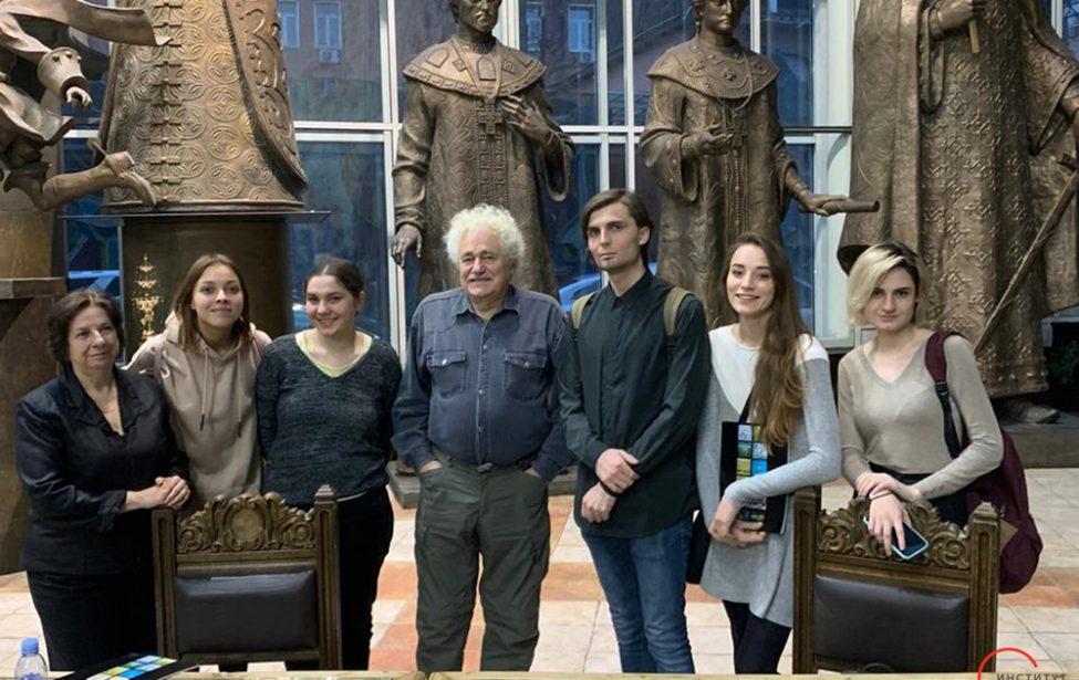 Студенты ИКИ встретились с Франсиско Инфанте