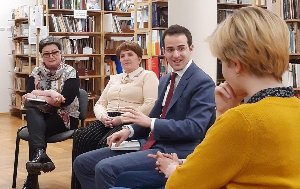 Первый секретарь Посольства Бельгии посетил ИИЯ
