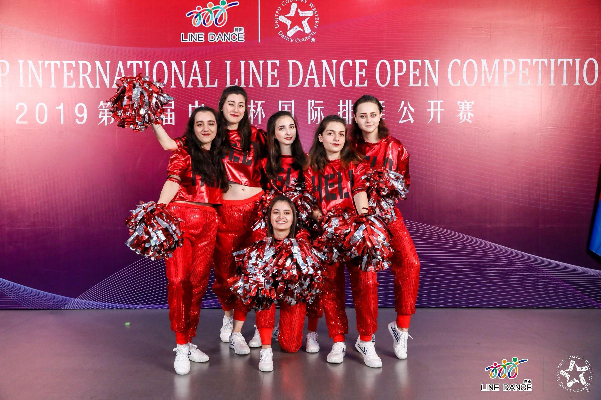 Студентки ИИЯ на международном танцевальном конкурсе в КНР