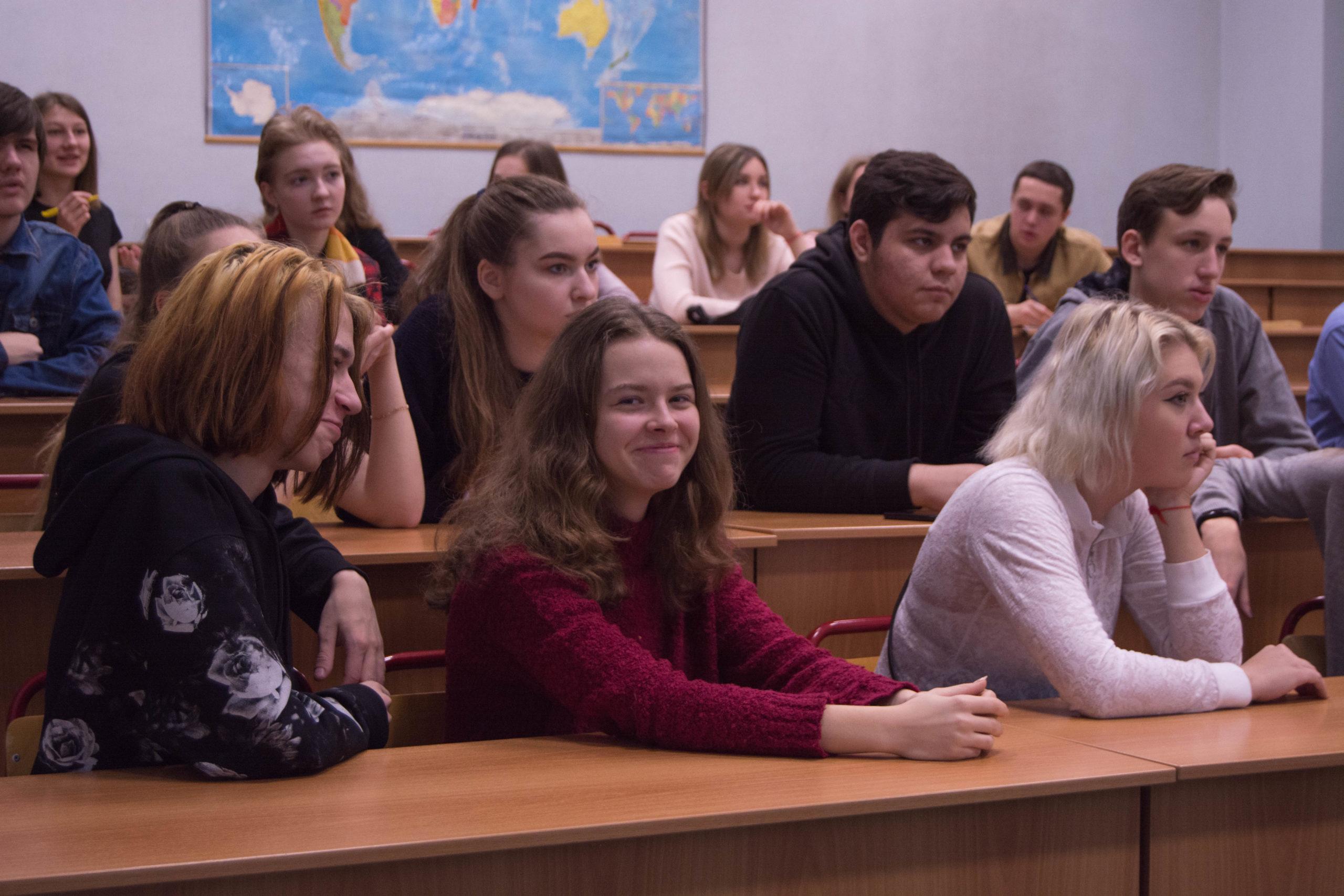 В ИЕСТ прошла встреча с учащимися предуниверсария