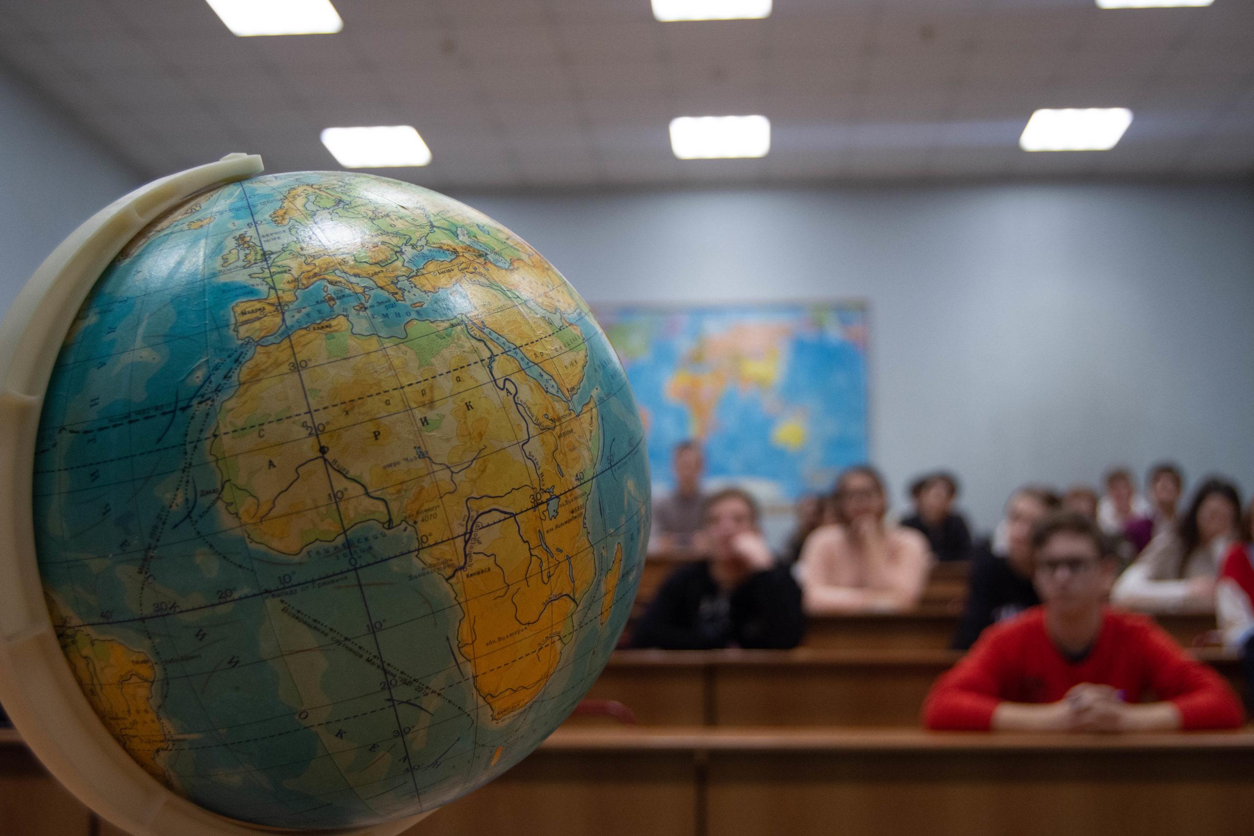 В ИЕСТ прошла олимпиада по географии