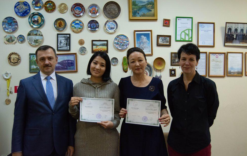 Подведены итоги стажировки докторантов из Казахстана