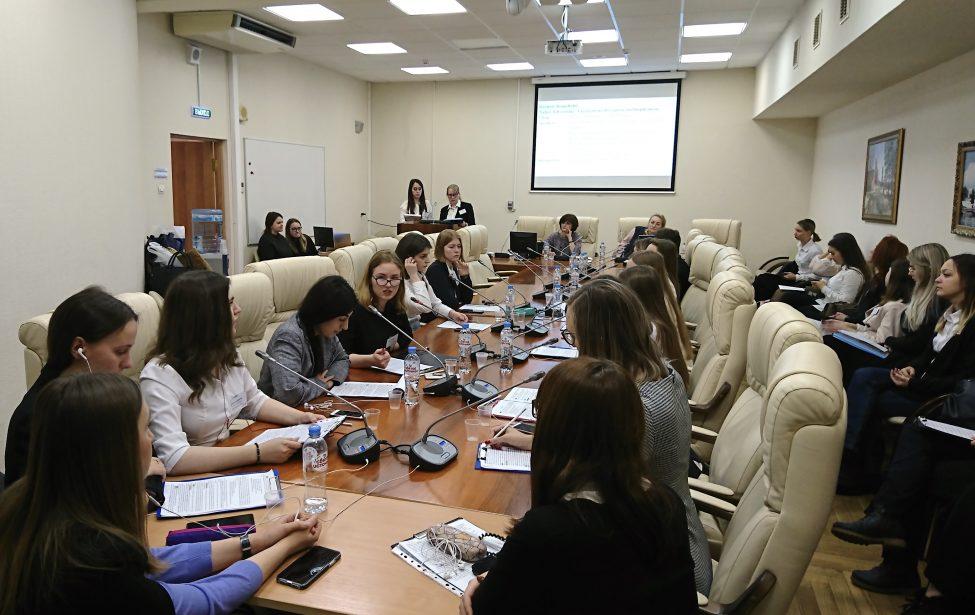 Студенты ИИЯ приняли участие в конкурсе конференц-перевода