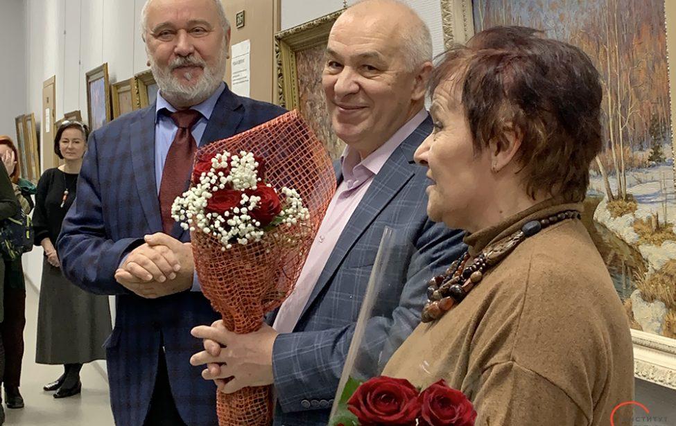Открылась выставка Сергея Рощина