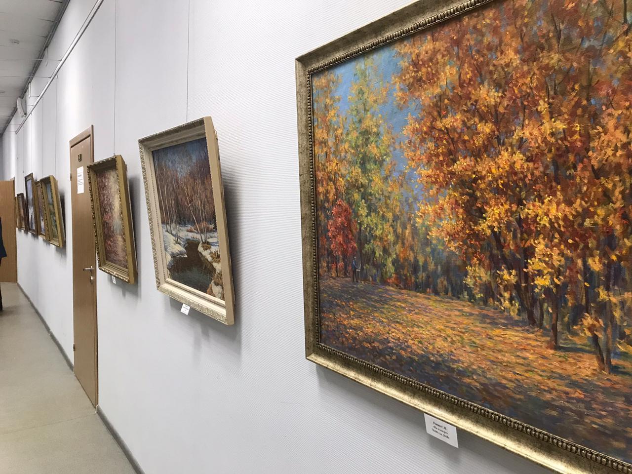 Выставка С.П. Рощина.12.12.19.ИКИ20