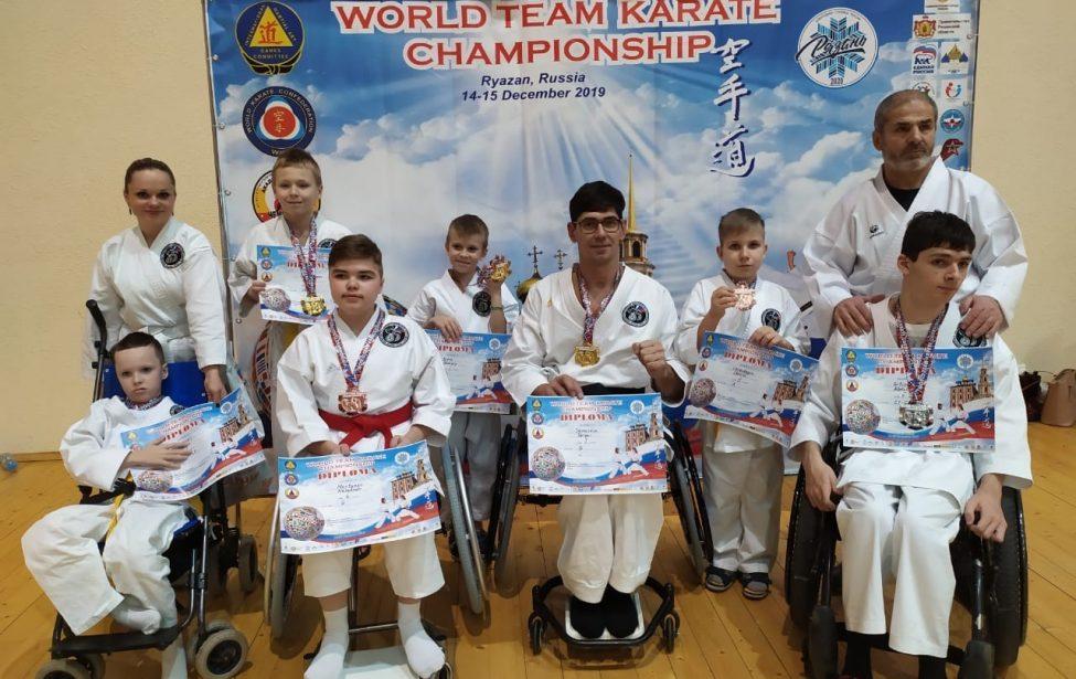 Выпускник МГПУ завоевал золото соревнований по пара-карате