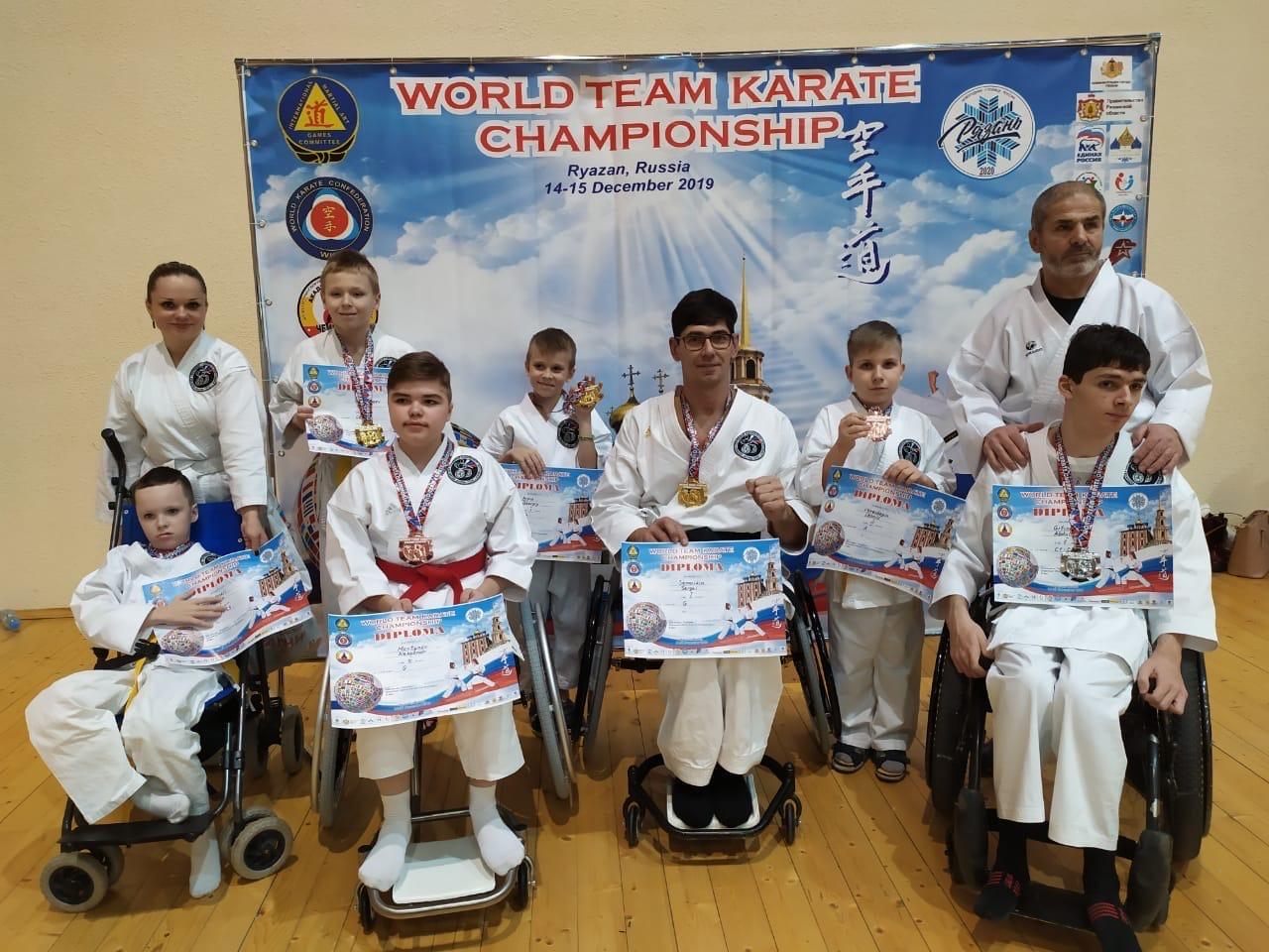 Выпускник МГПУ завоевал золото соревнований попара-карате