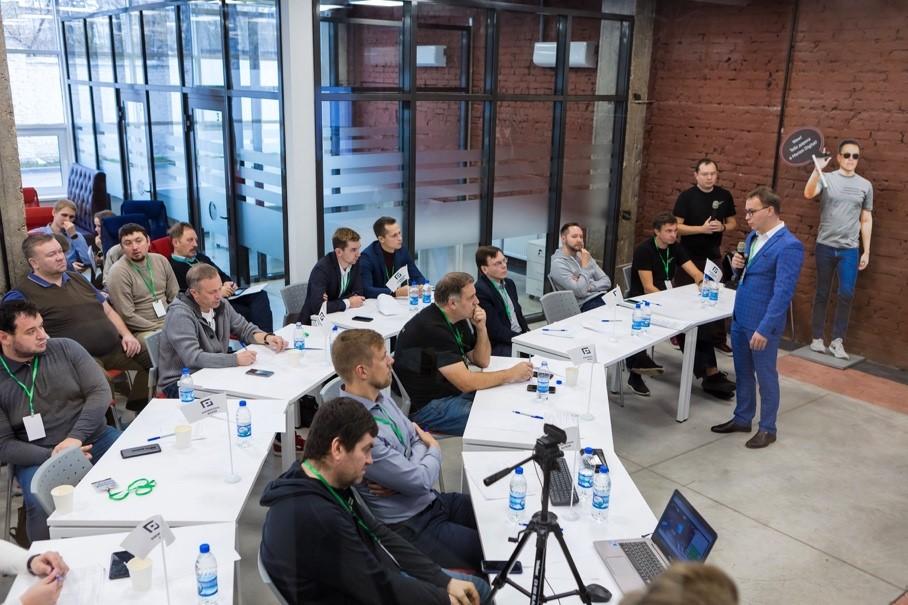 16-й стартап-марафон в Сколково