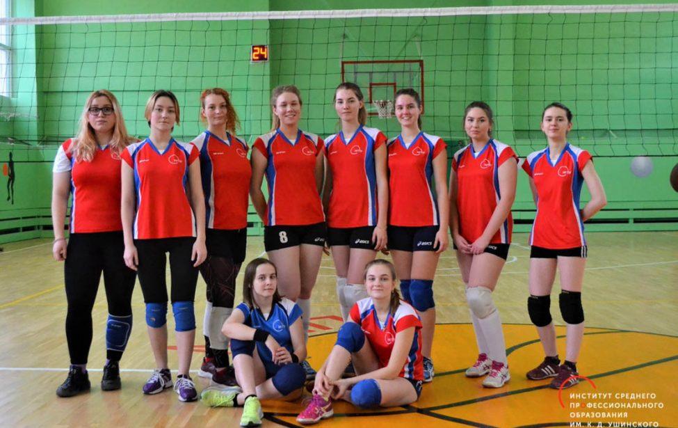 Волейболистки ИСПО стартовали в главном турнире года