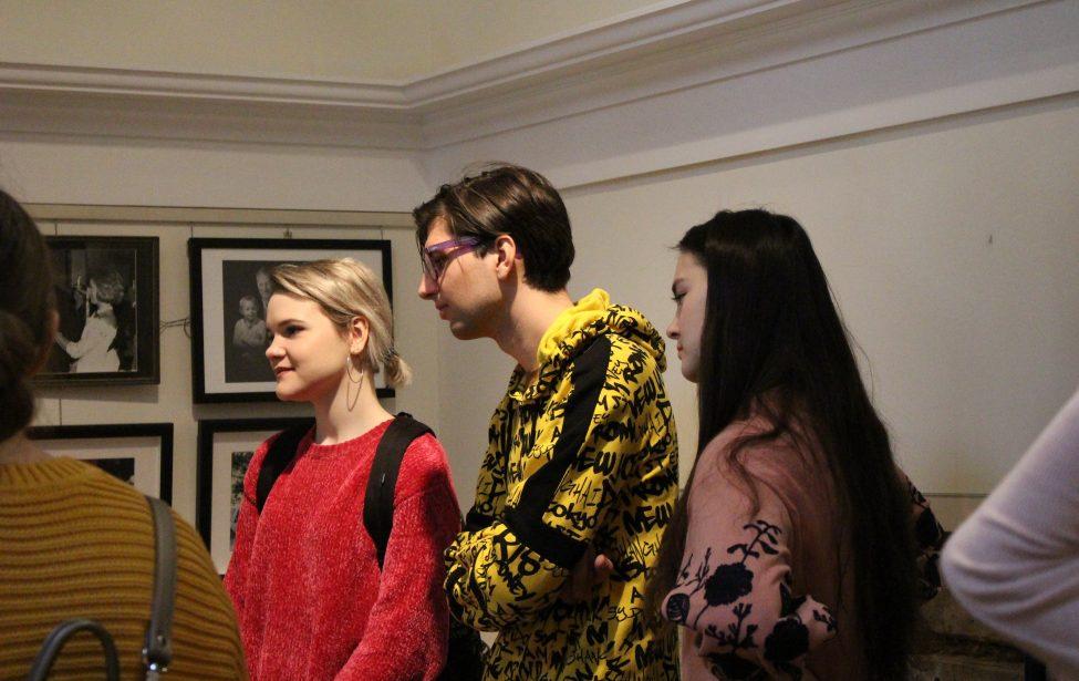 Пары пятикурсников прошли в музее