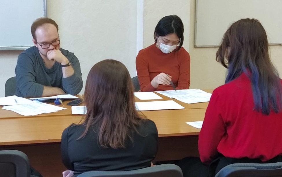 В ИИЯ состоялся финальный этап Олимпиады по японскому языку среди школьников