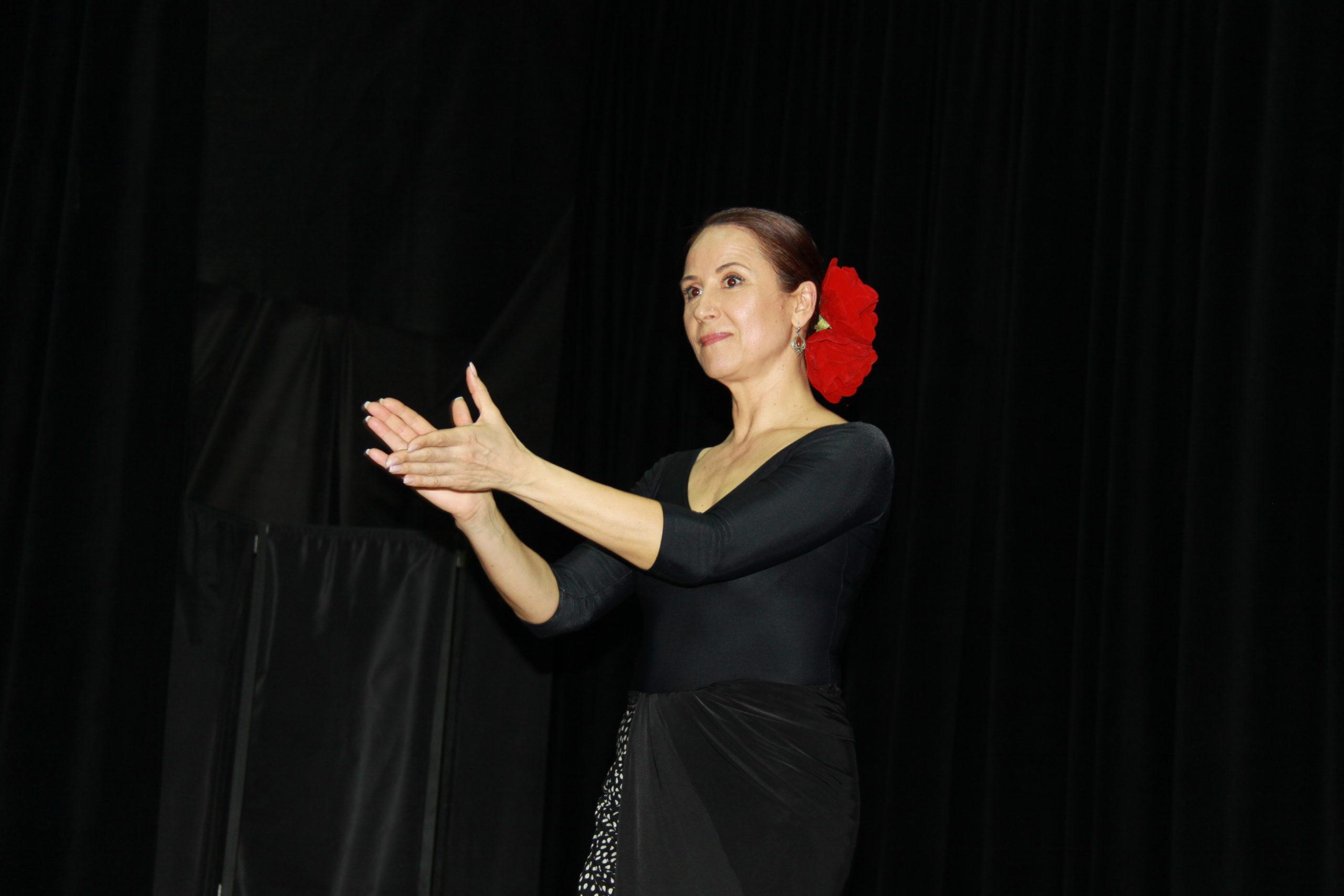 27.02.2020 Юлия Кругляк. Мастер-классы по фламенко. ИКИ41