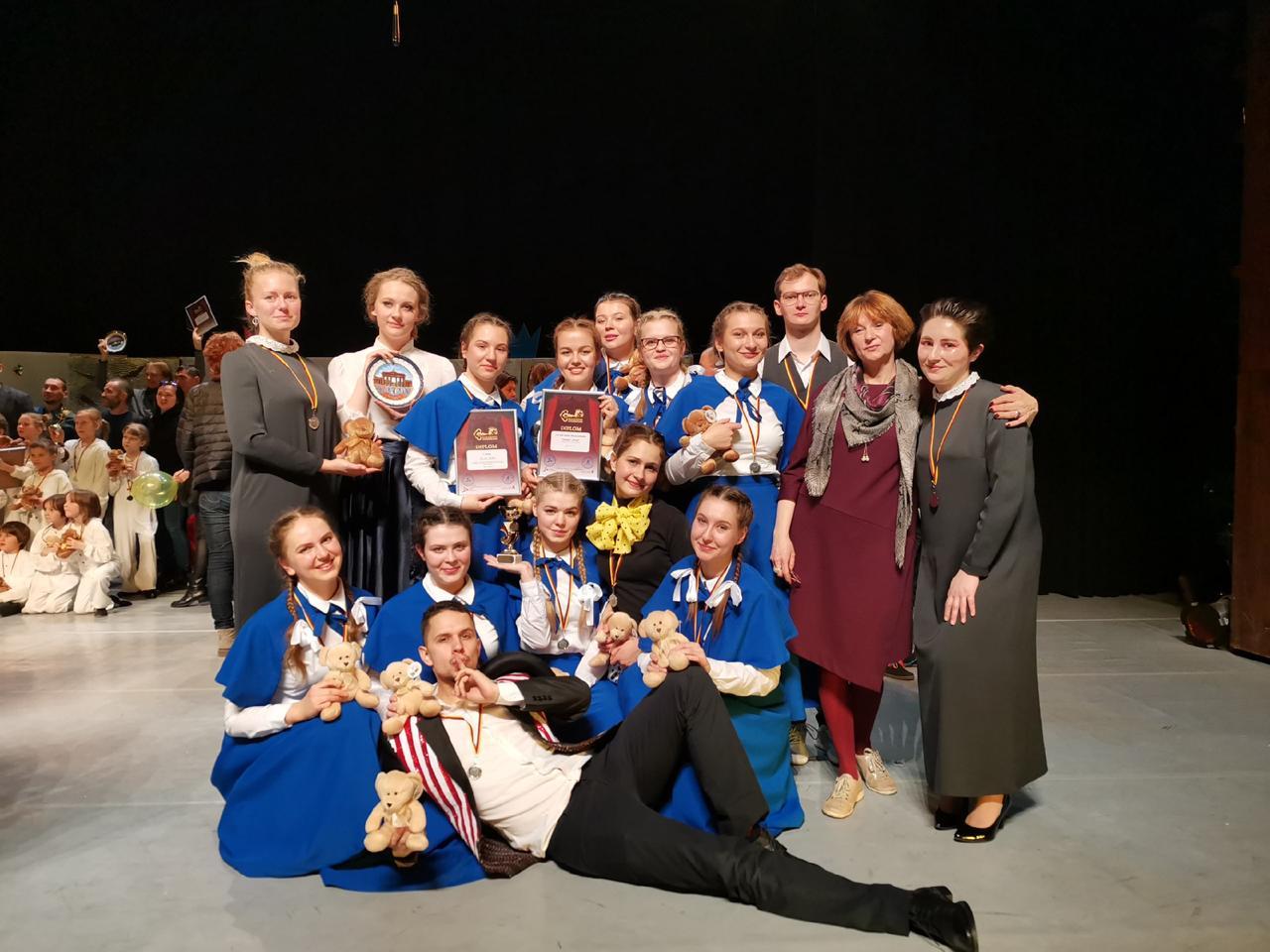 «Институтки» театра «Vivat» ИКИ МГПУ заняли I место в Берлине