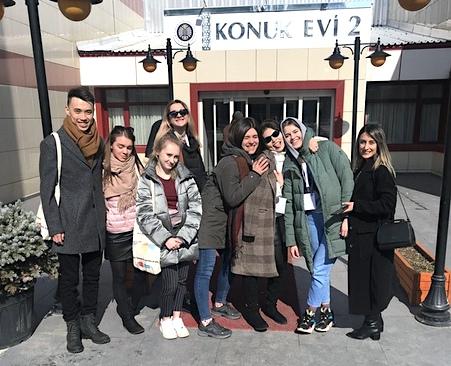В 9 Зимней школе университета Ататюрка