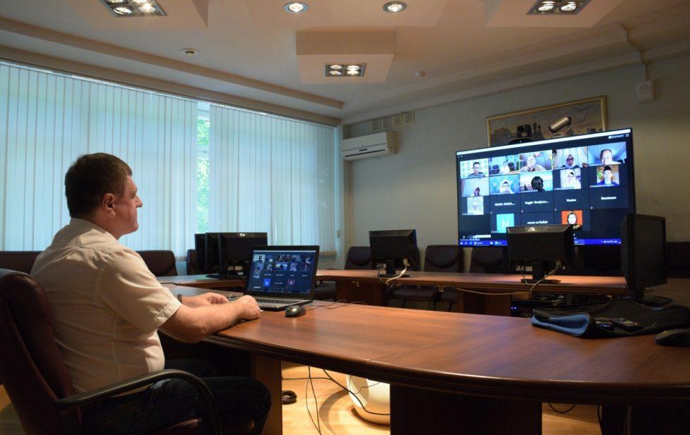 Cамарский филиал: международная видеоконференция с вузами Индонезии