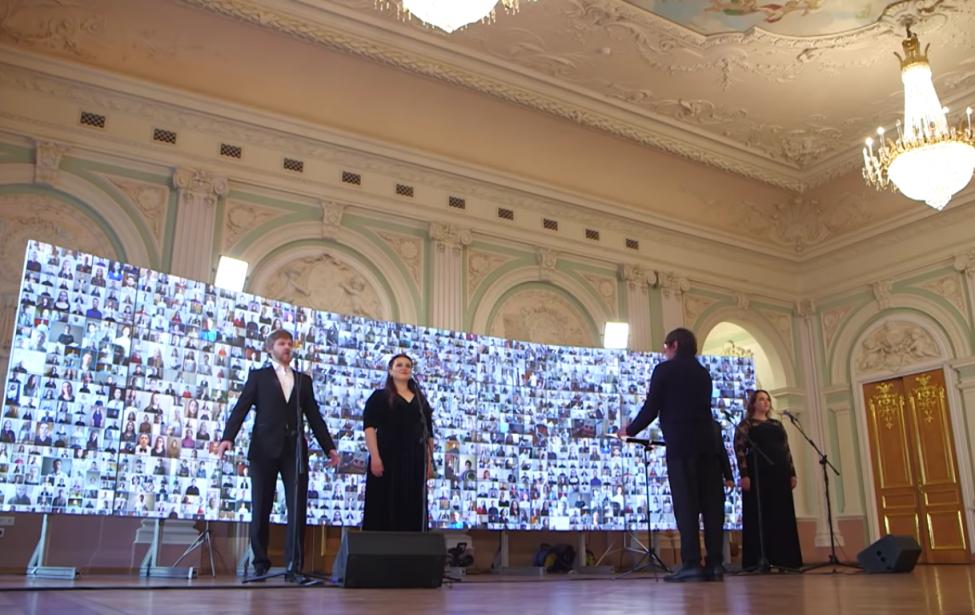 Хор МГПУ спел «День Победы» в онлайн-проекте Юрия Башмета