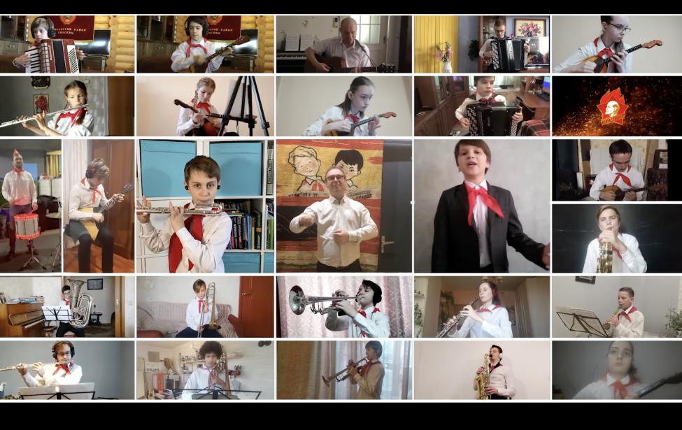 Музыкальное поздравление с днем Пионерии