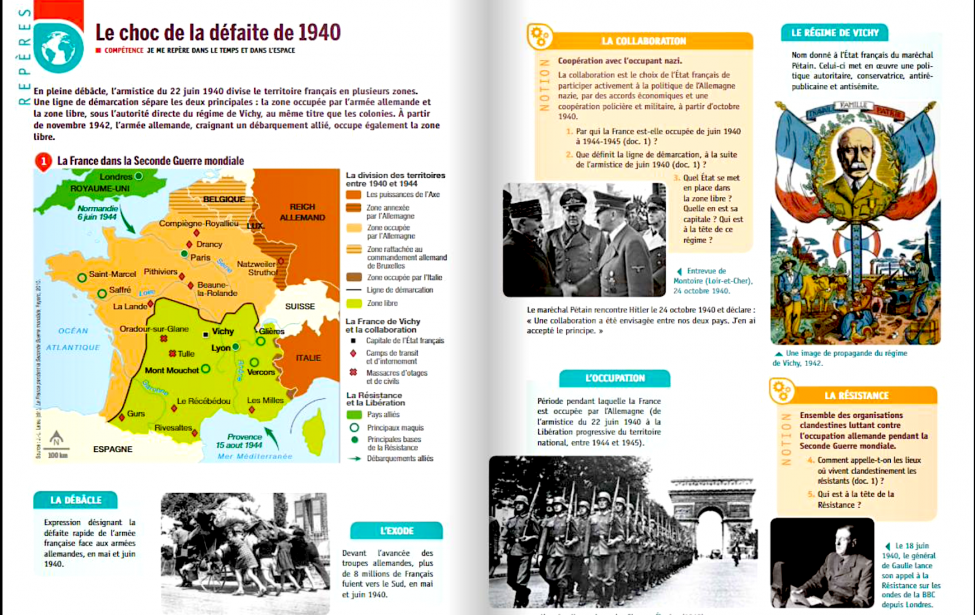 Рефлекция над итогами Второй мировой войны для Франции и России
