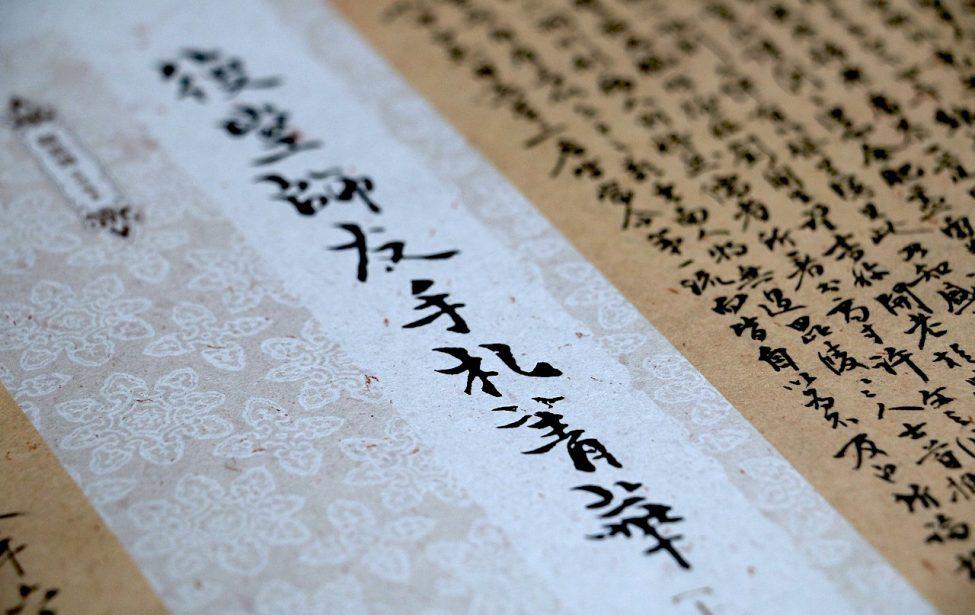 Студенты ИИЯ прослушали лекцию об истории китайских иероглифов