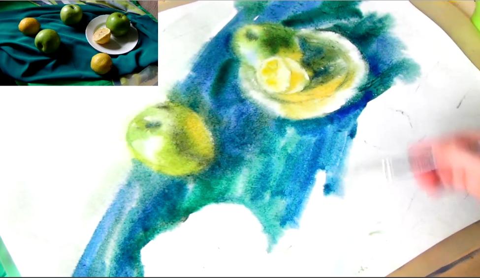 Каникулы с МГПУ | Мастер-класс «Любимые фрукты» Светланы Валикжаниной