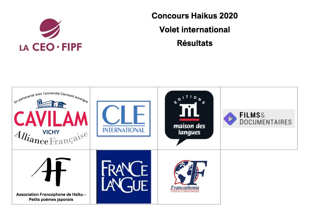 Итоги международного конкурса творческих произведений на французском языке