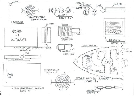 план площадки