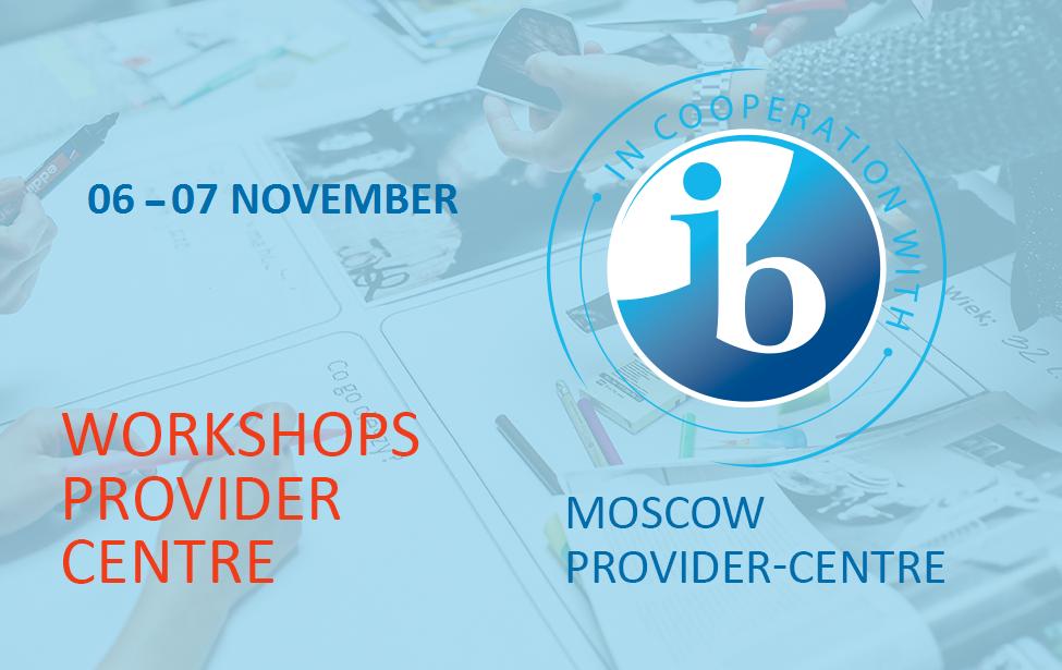 TheIB workshops inNovember
