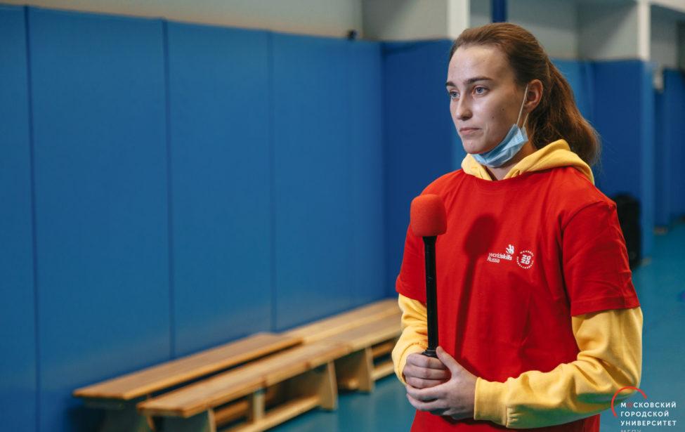 Ксения Казакова победила намежвузе WorldSkills