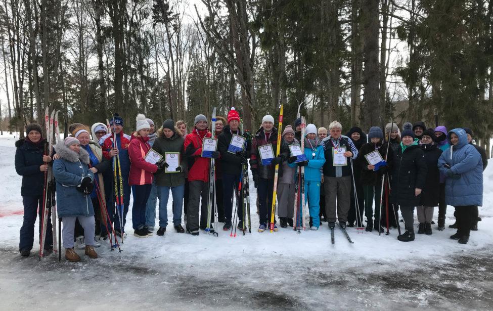 Результаты Первенства повидам спорта (лыжные гонки, плавание)