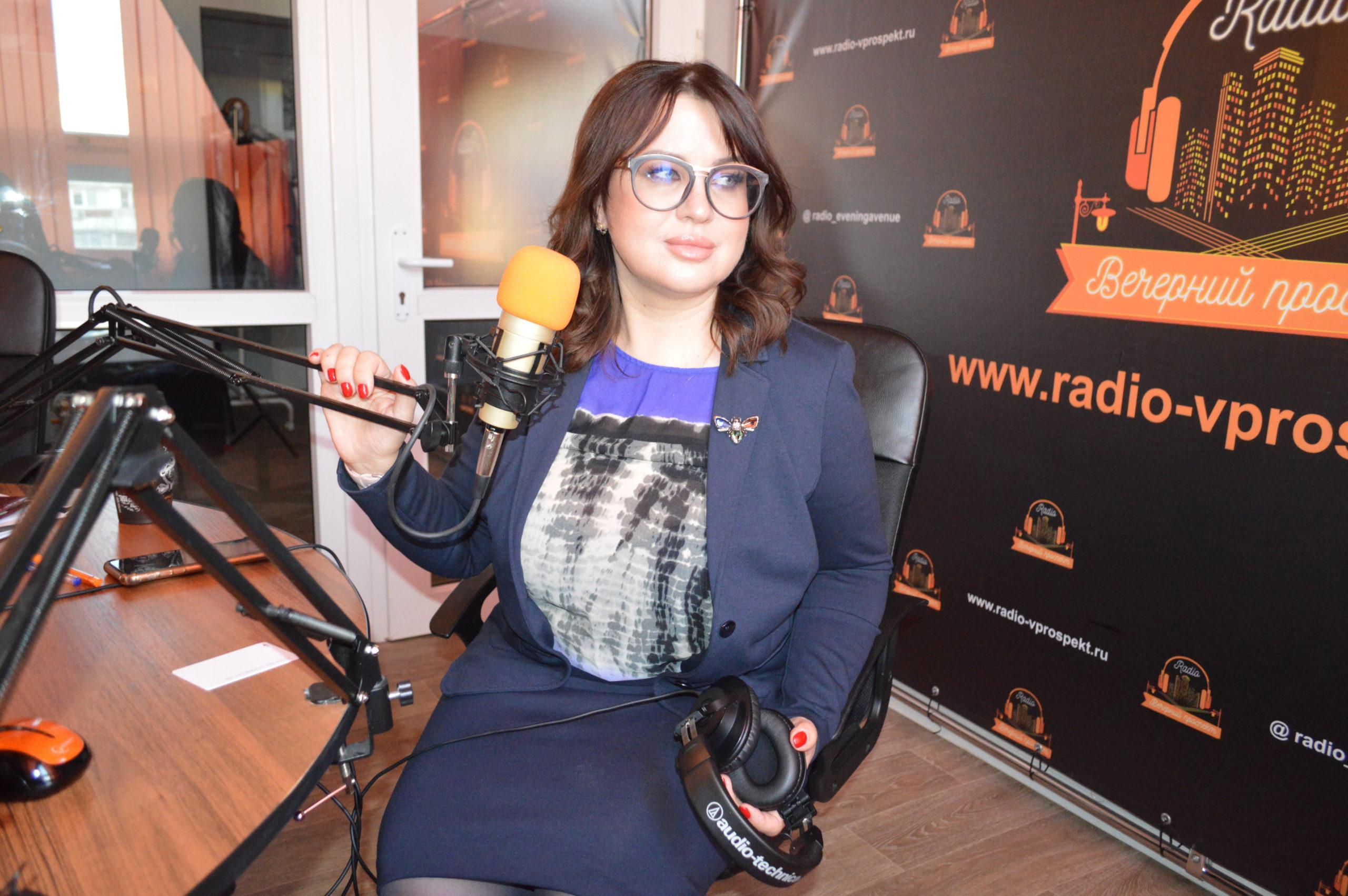 Ирина Сокерина овокальной педагогике нарадио «Вечерний проспект»