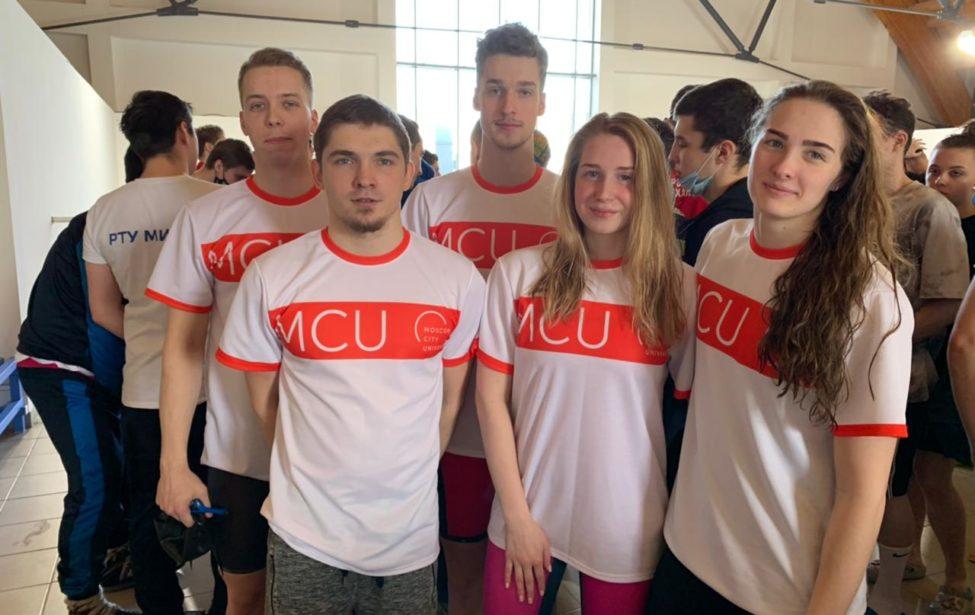 Пловцы МГПУ завоевали 7 медалей насоревнованиях МССИ