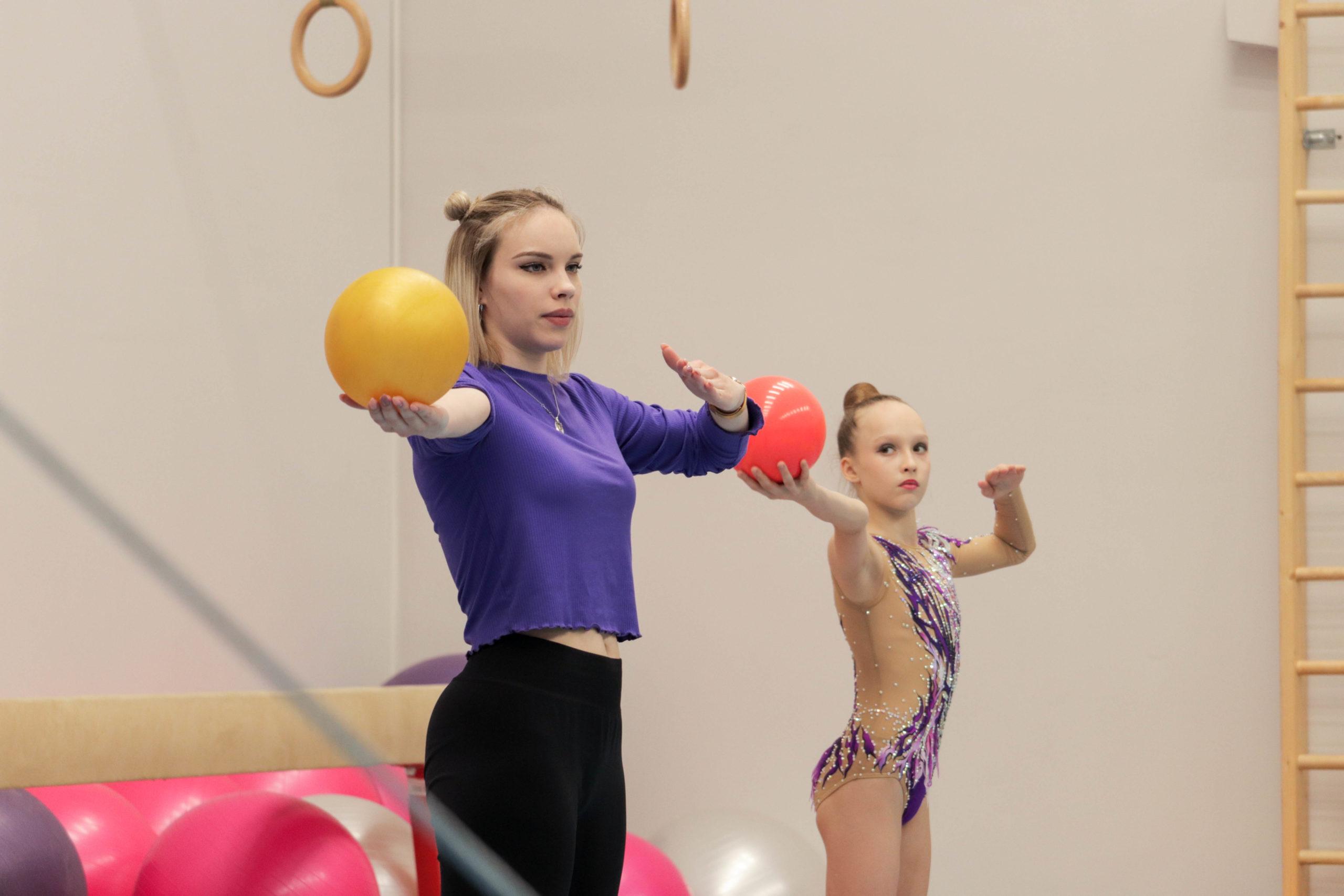 День открытых дверей гимнастической школы