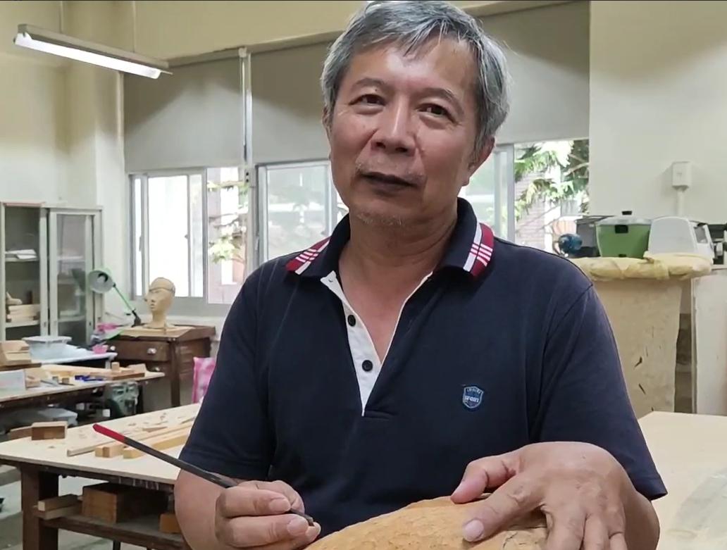 Встреча стайваньским скульптуром