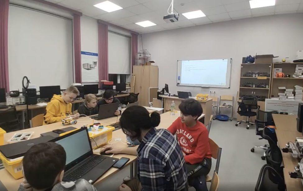 Самые молодые участники конкурса LEGO Education апробировали свои проекты